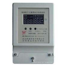 Medidor elétrico de faturamento de energia monofásica + comunicação RS485