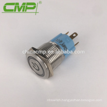 5A Max.Current 16mm Power LED Push Button Switch