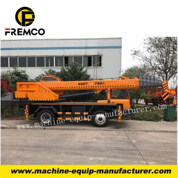 Factory Directly Sale Truck Crane with Wheel