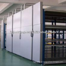 Rolo compactador de arquivos móveis para equipamento de armazenamento elétrico