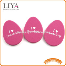 OEM Egg shape private label beauty sponge puff in multi color