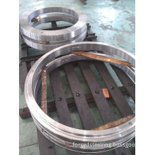 Alloy Steel Seamless Rolled Ring Forging , Cnc-machine Ring Roll For Idler