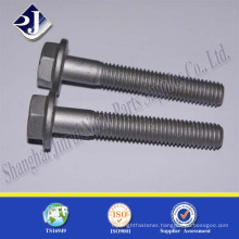 hot dip galvanizing grade 10.9 hex flange bolt