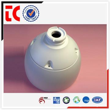 Couvercle de moniteur peint blanc de haute qualité pour l'utilisation d'équipements de sécurité / Aluminium moulé en fonte OEM en Chine