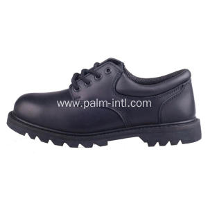 Smooth Leather/Steel Plate Safety Boots