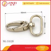 Gancho de metal de moda com liga de zinco para sacos