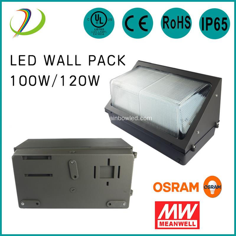 60W LED Wall Pack applique murale
