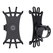 360 Degree Adjustable Phone Holder Silicone Band for Motorcycle Bike GPS Phone Stand Mount Universal Bicycle Holder