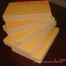 Tablero de fibra de densidad media simple o melamina