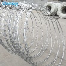 Hot Sale Razor Barbed Wire Pris per Roll