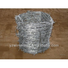 enough weight . barbed wire length per roll