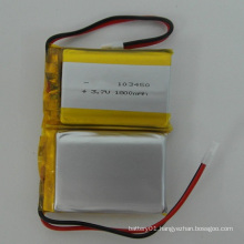 Li-Po Battery 3.7V 1800mAh 103450 Li-ion Battery Lithium-Polymer Battery