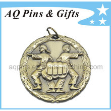 High Quality Medal with Antique Gold Plating