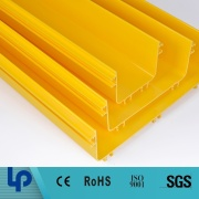 low price PVC made electric PVC/ABS plastic cable trunking made in china