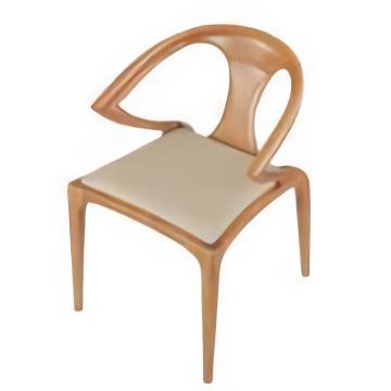Cadeira de jantar de madeira moderna do projeto novo