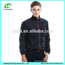New design Dark Navy color casual outdoor wear mens jackets