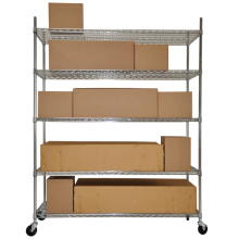 Multi Heavy Duty Warehouse Metal Shelving (HD184872A5CW)