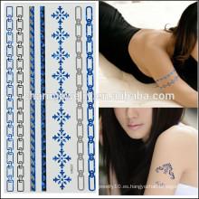 OEM Tatuajes de cuerpo de moda al por mayor tatuaje impermeable temporal diseño simple para las niñas encantadoras V4637