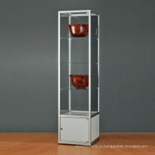 4 Слоя Акриловый Хранения Дисплей Стенд/Акриловый Стеллаж Для Выставки Товаров Пола