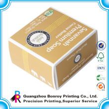 Caja de empaquetado de jabón de crema de cara de papel personalizado