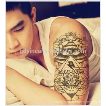Desenhos de tatuagem de etiqueta temporária para homens do fabricante