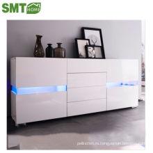 Шкаф хранения глянцевый светодиодный боковой акриловый белый PB завод