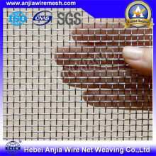 Galvanized Crimped Iron Wire Mesh Square Wire Mesh