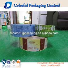 aceite a película de embalagem feita sob encomenda das microplaquetas de batata da folha do produto comestível