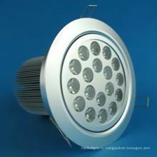 18W наивысшей мощности светодиодные светильники