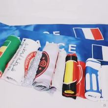 hip new design ireland printing fashional fleece scarf