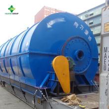 Usine de pyrolyse en plastique à vendre par Huayin Fabricant avec bonne conception