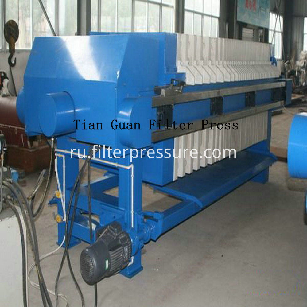 Sewage Plate Frame Filter Press 2