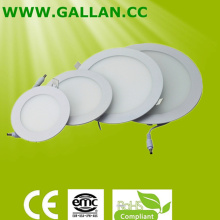 Hot Sale 6W/9W/ 12W/15W/18W Round Slim LED Panel Light (GHD-PR-6W)