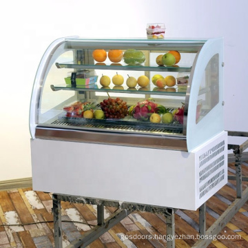 cake cabinet refrigerated display showcase for bakery shop