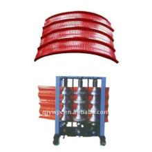БС стальной плиты цвета формируя машину автоматическая арочные