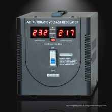 SCIENTEK Factory Affichage LED Stabilisateur de tension automatique 5000VA 3000W avec affichage compteur