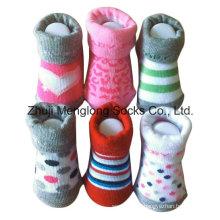 Младенческая мальчиков Симпатичные хлопковые носки пинетки