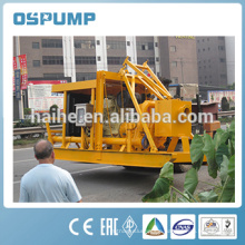 Diesel engine with automatic safety alarm of pontoon type self suction sand pump