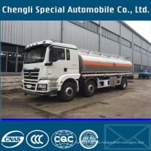 8 x 4 Rhd Shanqi aluminio aleación carro del tanque de combustible