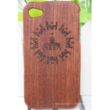 Новых инновационных продуктов, древесины и алмазов случаи и крышки мобильного телефона