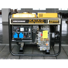 Air Cooled Open Frame Single Style 220V 3kVA 3kw Portable Diesel Generator