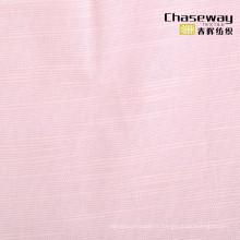 Tissu en coton en bambou en lin