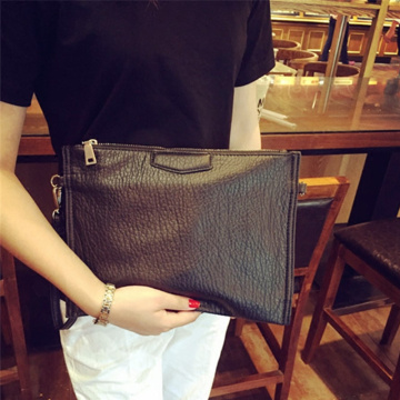 Men+Women+Trend+Zip+Purse+Wristlet+Handbag