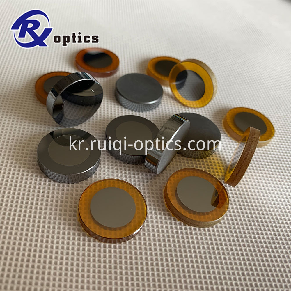 output coupler lens and mirror end