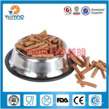 bol d'animal familier d'acier inoxydable de taille multiple et coloré, cuvette de chien, récipient de nourriture de chien