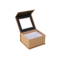 Craft Paper PVC Window Decoration Collapsible Gift Box