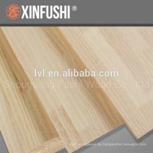 Chile Pine Fingergelenk Panel für Japan Markt