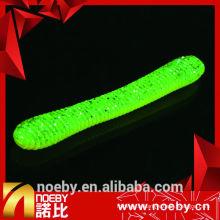 NOEBY 11cm double couleur ver des appâts appuie douce appuie