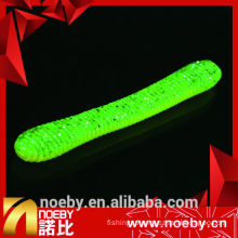 NOEBY 11cm double colour worm bait fishing soft bait