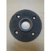 1/2 3/4 wrought iron pipe fittings floor flange